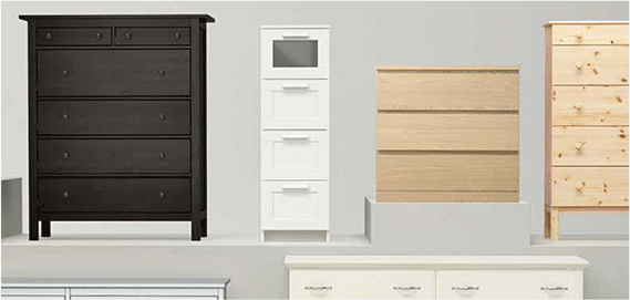 best website acbdb 4f202 Pre-Assembled Chest of Drawer Delivery Package | IKEA Japan