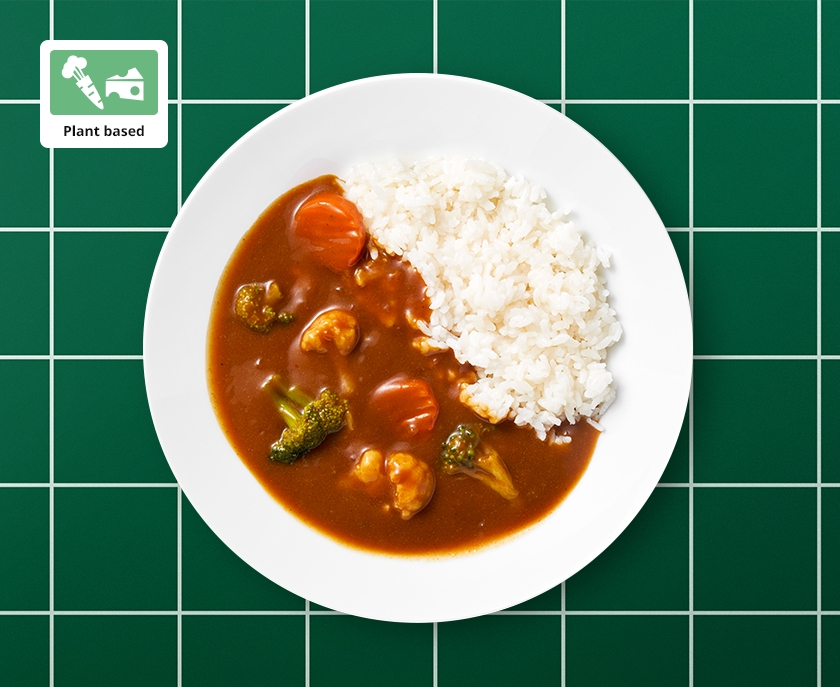 Plant based curry